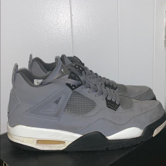 Jordan Shoes   Jordan 4 Retro Cool Grey